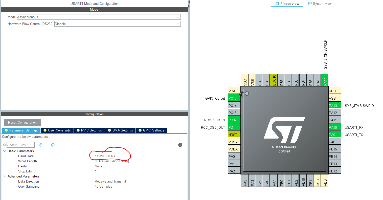 Ring buffer using head and tale in STM32 » ControllersTech